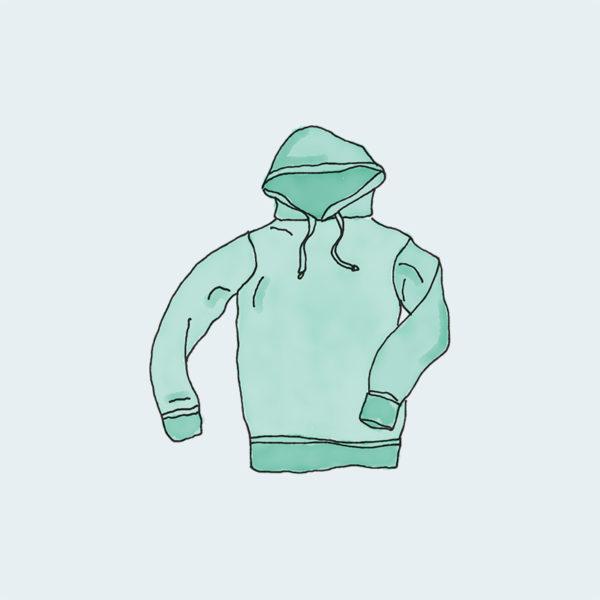 hoodie green 1